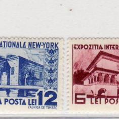 Romania   1939     Expozitia Internationala  New York