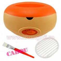 Incalzitor Ceara, Parafina sau Aromaterapie profesional, 3000 ml + CADOU Pensula Parafina