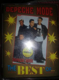 SET casete audio Veche de colectie,DEPECHE MODE-THE BEST OF,Col.BRAWO,T,GRATUIT