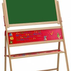 Tabla de scris magnetica din lemn 40x67x110 cm Eichhon