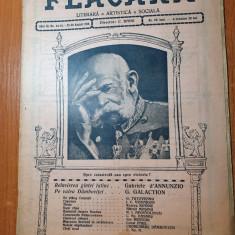 flacara 23-30 august 1914-valea dambovitei,rucar,gala galaction,razboiul