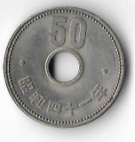 Moneda 50 yen 1966 - Japonia