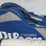 Geanta tenis WILSON TEAM, pana la 9 rachete