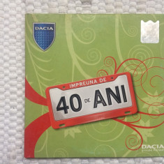 dacia impreuna de 40 ani cd disc compilatie muzica pop mediapro music 2006