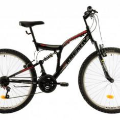 Bicicleta Mtb Kreativ 2641 Negru M 26 inch, V-brake