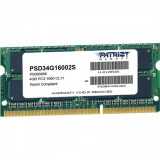 Memorie ram notebook patriot sodimm ddr3 4gb 1600 mhz 1.5v