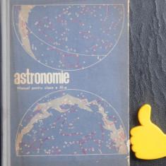 Astronomie manual pentru clasa a XI-a reala
