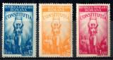 1948 LP232 serie Constitutia R.P.R. (erori pe 1 leu) MNH, Istorie, Nestampilat