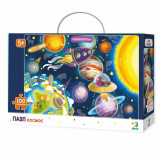 Puzzle - Spatiul cosmic (100 piese) PlayLearn Toys, Dodo