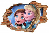 "Sticker ""Wall Crack"" Frozen 2 - 120 x 80 cm"