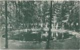 Carte poștală – Ferma Făgăraș. Lacul cu păstrăvi dela Fântâna Crăiesei