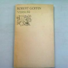 VERSURI - ROBERT GOFFIN