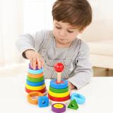 Curcubeu Turn Montessori din lemn.