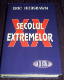 Secolul extremelor - Eric Hobsbawm, monografie istorica a sec. XX, supracoperta