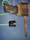 Pistol de lipit vechi,pistol de lipit reconfectionat manual,masiv,bine legat,T.G