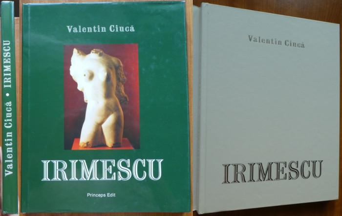 Album arta , Valentin Ciuca , Ion Irimescu ; Eseu despre paradigma fidiaca ,2003