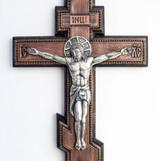 Icoane argintate, Crucifix de perete, dim 31cm x 21cm, cod K-02