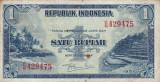 INDONESIA INDONEZIA 1 RUPIAH 1951 VF
