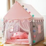 Cort pentru copii, casuta pentru fetite, roz