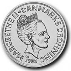DANEMARCA - 200 kr. 1995 - Ag 999 - PROOF, Europa, Argint