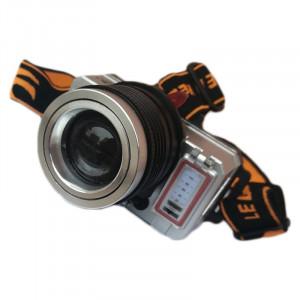 Lanterna frontala Minghuo MH-T10, 3 faze, USB, lumina calda/rece, acumulator
