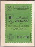 bnk fil Catalogul Expofil 10 ani activitate filatelica Constanta 1968