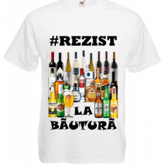 "TRICOU MESAJ HAIOS ""#REZIST LA BAUTURA"""