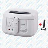 Cumpara ieftin Friteuză Electrică cu termostat Hausberg, 1800 W, 3 litri, Max 190 Grade, diverse culori