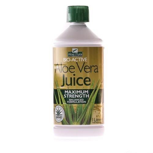 Aloe Vera suc bio, 1000ml, Herbavit