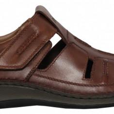 Pantofi barbati perforati Rieker 05256-25 toffee