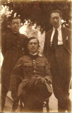 A1014 Ofiter roman decorat Crucea comemorativa a razboiului 1916 1918 3 barete