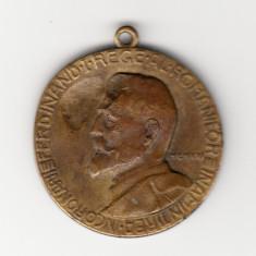 Medalia In amintirea incoronarii Ferdinand I rege al romanilor - 1921