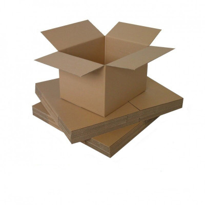 Cutie carton 360x300x190, natur, 5 straturi CO5, 690 g/mp foto