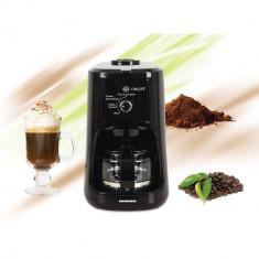 Cafetiera Heinner HCM-900RBK, 900 W, Rasnita incorporata, 0,6 L, Negru