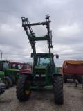 Tractor John Deere 7710, an 2000, AC, 170 CP, 4x4 + încărcator JD 740A, PilotOn