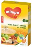 Cereale Milupa Musli Junior 7 cereale cu 5 fructe, 250g