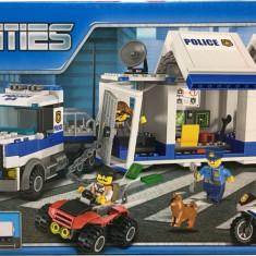 JOC CONSTRUCTIE TIP LEGO,COMPATIBIL 100%,STATIA DE POLITIE A ORASULUI,398 PIESE