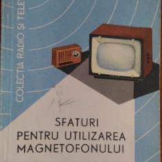 Sfaturi pentru utilizarea magnetofonului – Mircea Popescu