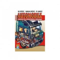 Automobile Constructie, intretinere si reparare Editia 2020, autor Gheorghe Fratila