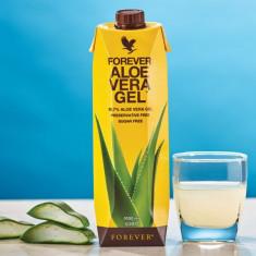 Gel Aloe Vera 100% natural din frunza de aloe vera