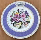 Farfurie - de colectie - port. englezesc - Wedgwood - Chelsea Flower - 1995