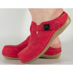 Saboti/Papuci rosii medicinali gel pe talpa (cod 154149M)