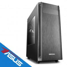 Sistem desktop Editor V6 Powered by ASUS Procesor AMD Ryzen5 1600 Hexa Core 3.4 GHz 8GB DDR4 Placa video Asus nVidia GeForce GTX 1050 Ti STRIX GAMING