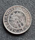 Antilele Olandeze 25 cent centi 1992, America Centrala si de Sud