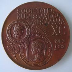 Societatea Numismatica Romana - 90 de ani - 1903 - 1993
