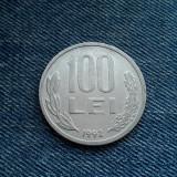 100 Lei 1992 Romania / litere si cifre subtiri, inguste