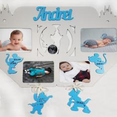 Rama foto Disney personalizata cu datele copilului