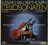 BEETHOVEN - Cellosonaten ( 3 discuri vinil - editie completa )