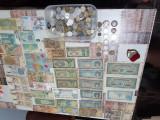Vand colectie de Monede si bancnote