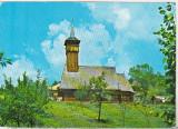 bnk cp Olanesti - Bisericuta de lemn a lui Horia - circulata - marca fixa